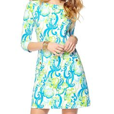 NWT Small Charlene Shift Dress in Crystal Coast NWT Small Lilly Pulitzer Charlene Shift Dress in Crystal Coast. $105 PPL Lilly Pulitzer Dresses