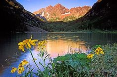 Maroon Bells, probably the most photographed mountain in the state and every shot is uniquely beautiful!
