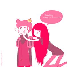 Marcelline the Vampire Queen and Prince Gumball (: I like this shipping. No, I am not sorry.