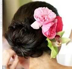 Fresh Flower Hairpiece