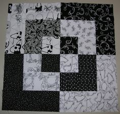 Silver Thimble Quilting Archive: Black and White