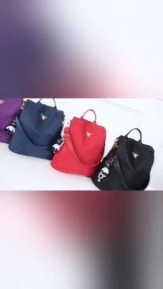 Women Oxford Anti-theft Casual Bags – Purses And Handbags Diy Look Fashion, Fashion Bags, Diy Handbag, Accesorios Casual, Handbag Organization, Cute Backpacks, Girls Bags, Cute Bags, Casual Bags