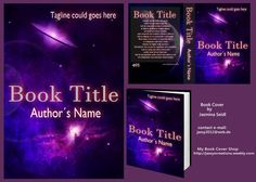 Premade Book Cover 495 - UFO with Info by Jassy2012.deviantart.com on @DeviantArt Premade Book Covers, Book Title, Ufo, Names, Author, Books, Libros, Art, Book