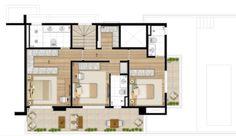 Duplex Superior 272m² 3dorms 3suítes