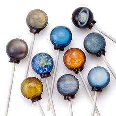 Planet Lollipops at Uncommon Goods - For the astrophysicist or amateur astrologist in your life. Or just someone who loves SCIENCE! $30 Uncommon Goods