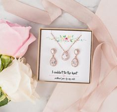 Teardrop Bridesmaid Jewelry Set Rose Gold Silver Gold Wedding Jewelry Set Earring Rose Gold Wedding Jewelry, Rose Gold Bridal Jewelry, Wedding Necklace Set, Bridal Jewelry Sets, Crystal Wedding, Bridesmaid Jewelry Sets, Bridesmaid Earrings, Bridal Earrings, Etsy Earrings