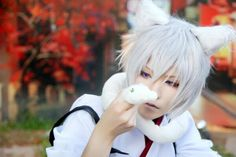 Tomoe (Kamisama Hajimemashita or Kamisama Kiss) cosplay by Yuegene Fay. #kamisamahajimemashita #cosplay