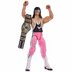 WWE WrestleMania Elite Bret Hart Action Figure