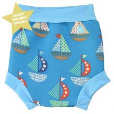 Splash About Happy Nappy Swim Diaper Set Sail -X Large 12-24 Months