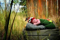 A.S.W. Fall Newborn Photo Shoot The Very Hungry Caterpillar ©Amber S. Wallace Photography North Carolina