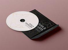 PSD CD Disk Sleeve Mock Up | Mockup Land | trendy Simple.