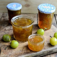 Traditional Greengage Jam + Wild Meadow Flowers & Buttery Brioche : lavenderandlovage