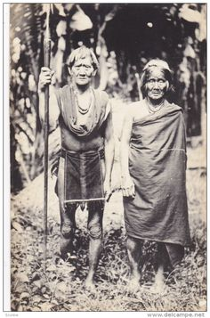 RP: PHILIPPINES , 00-10s ; Old native couple