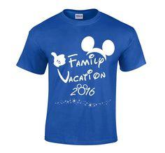 2016 Disney Family Vacation T-shirt por theperfectnumber en Etsy