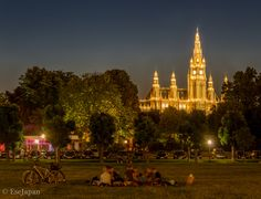 Rathaus (Vienna City Hall) Vienna Austria, Dolores Park, Travel, Trips, Viajes, Traveling, Tourism, Outdoor Travel, Vacations
