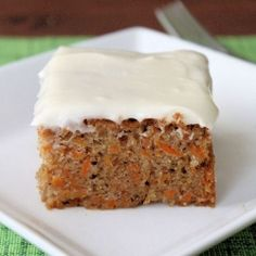 On Carrot Cake with Cream Cheese Frosting and coping with a demonic toddler.