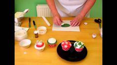 Sugarcraft Tutorial - Christmas Cupcakes