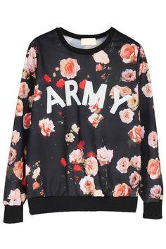Capital Arm Rose Sweatshirt