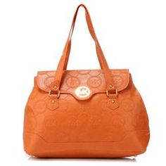 2d34e77a59f2 Michael Kors Logo Monogram Large Orange Shoulder Bags on sale. Save Big,Buy  Now!