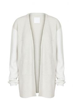FOAM KNIT CARDIGAN