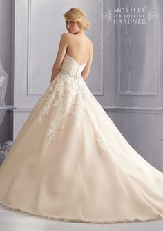 Mori lee style 2690 back of dress