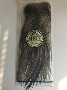 whiting 100s grizzle olive size 14 saddle feathers flytying materials