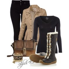 """""""Winter Outfit!"""" by stylisheve on Polyvore"""