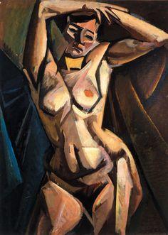 RÉTH Alfréd: Nude, 1912