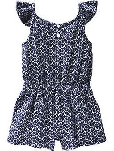 Flutter-Sleeve Rompers for Baby $9.99 this one is really cute too if you think she can fit in a 18-24mt size