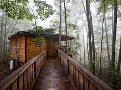 This retreat in Tennessee gets HomeAway's nod as most romantic for its seven-acre property that offers hiking and seclusion, from $115 a night.