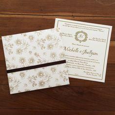Convite Casamento | Papel Raro | Elo7