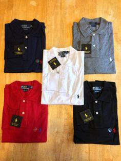 Ralph Lauren Men's Custom Fit Polo Long Sleeved