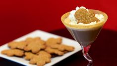 Make a festive cocktail by topping a gingerbread martini with whipped cream and a Pepperidge Farm® Gingerman cookie.