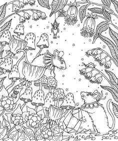 "Magical Dawn Coloring Book: Published in Sweden as ""Magisk Gryning"": Hanna Karlzon: 9781423646594: Books - Amazon.ca"