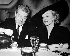 Marlene Dietrich & Jean Gabin