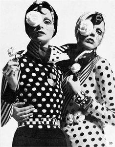 Polka dots - Vogue.it 1972