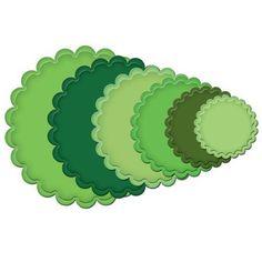 Spellbinders Nestabilities Large Scalloped Circles | eBay