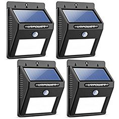 URPOWER Solar Lights 8 LED Wireless Waterproof Motion Sensor Outdoor Light for Patio Deck Yard Garden with Motion Activated Auto OnOff -- More info could be found at the image url-affiliate link. Solar Powered Outdoor Lights, Solar Flood Lights, Motion Lights Outdoor, Charlotte Nc, Outdoor Garden Lighting, Garage Lighting, Porch Lighting, Solar Lamp, Led Lamp