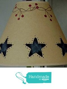 Punched Black Tin Berry Vine Brown Oiled Craft Lampshade from Primitive Country Loft House https://www.amazon.com/dp/B01E1YFN8O/ref=hnd_sw_r_pi_awdo_BDspzbM78EJQN #handmadeatamazon