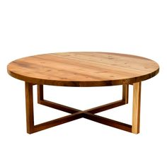 A round coffee table always makes a living area appear inviting. The Namib coffee table is ideal for a cup of anything with a few friends. Home Coffee Tables, Solid Wood Coffee Table, Round Coffee Table, Custom Dining Tables, Steel Table, Outdoor Dining, Table Furniture, Interior, Living Area