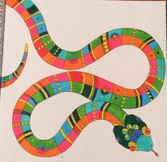 Jekyll and Hyde snake #ColourMeMindful Tropical @acatris @charlieinabook
