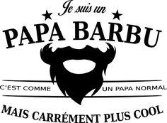 personnaliser tee shirt papa barbu