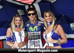 Valentino Rossi ist wieder dick im Geschäft