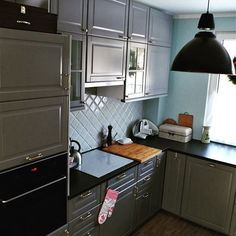 bodbyn grey, kitchen
