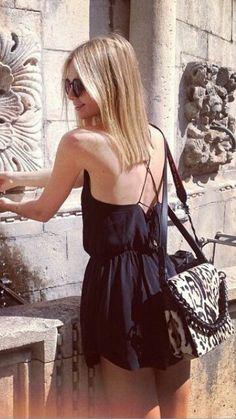 black jumpsuit style