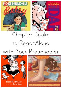 Great early chapter books to read aloud to a preschooler