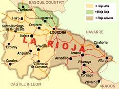 Image result for rioja spain wine map