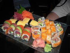 Sushi from Kona Island Sushi Bar WDW