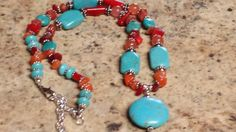 Rodeo ChicTurquoise and natural stone Southwestern by RodeoSun