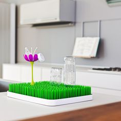 little green in the kitchen - Stem, Grass and Lawn Drying Rack Accessory